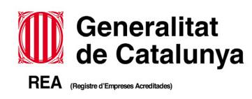 Generalitat de Catalunya Registre D'Empreses Acreditades